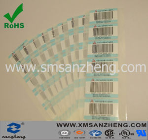 Colorful Barcode Sticker in Sheet pictures & photos