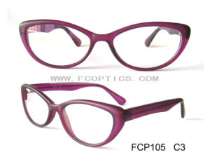 Matt Purple Young Lady Optical Frame pictures & photos