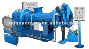 Hot Feed & Pin Barrel Cold Feed Rubber Extruder Machine pictures & photos