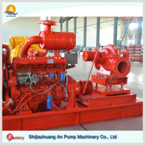 Hot Sales of Double Suction Split Case Irrigation Diesel Water Pump pictures & photos