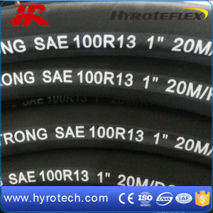 Hydraulic Hose SAE 100r13 (6-WIRE SPIRAL) or 4-Wire Spiral pictures & photos