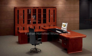 High Quality Office Desk Manufacture Wooden Executive Boss Table (HF-LTA003) pictures & photos