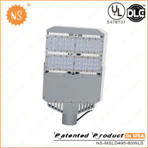 UL Dlc Lm79 60W LED Street Light with Light Sensor