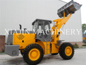 3 Ton Front End Loader Hydraulic Mini Wheel Loader pictures & photos