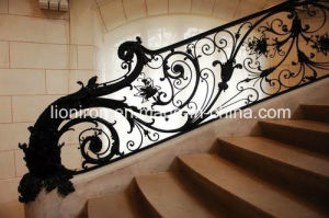 Top Quality Artistic Iron Stair Railing From Factory pictures & photos