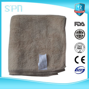 Embossed Heat Transfer Printing Long Fibre Microfiber Towel pictures & photos
