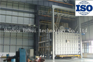 Trolly Type Gas High Temperature Heat Treatment Furnace pictures & photos