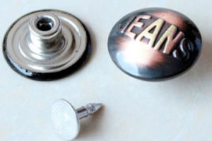 Brass Buttons for Jeans B279 pictures & photos