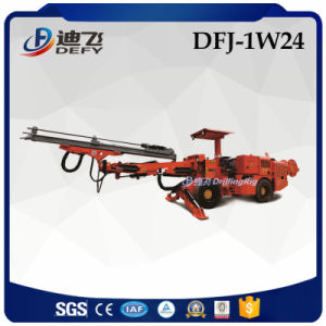 Defy Brand Single Boom Tunnel Jumbo Drill for Blast Holes pictures & photos