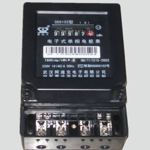 2018 New-Style Single Phase Electromechanical Meter with Black Metal Base pictures & photos