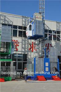 Safety Hoist /Double Cage, Construction Site Hoist pictures & photos