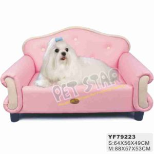 Luxury Pink Dog Sofa, 2 Sizes Available (YF79223) pictures & photos