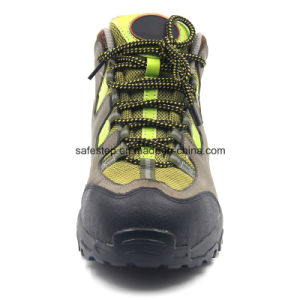 Composite Toe Nubulk Leather Executive Safety Shoes pictures & photos