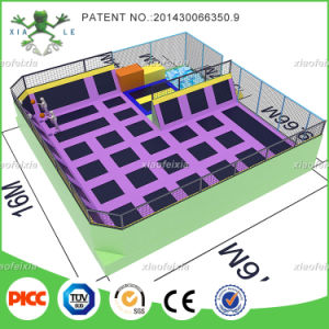 Indoor Trampoline Park with Basket Ball Hocks and Ball Pools pictures & photos