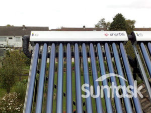 Heat Pipe Solar Collector with Solar Keymark (SCM15-58/1800-01) pictures & photos