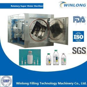 Fat Milk Rotatory Hot Water Sprinkling Sterilizer pictures & photos