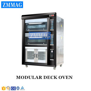 4 Trays Gas Deck Oven with 8 Trays Proofer Hotel Accessories (ZMC-248FM) pictures & photos