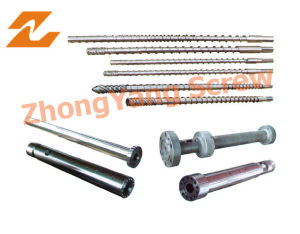 Conical Twin Screw and Barrel for Plastic pictures & photos