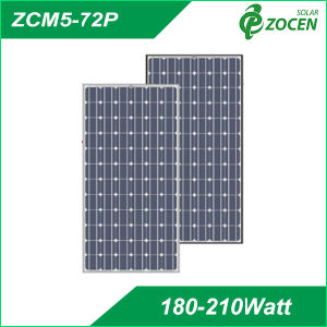 Mono Crystalline 203W Solar Panel with 72PCS 5 Inch Cell pictures & photos