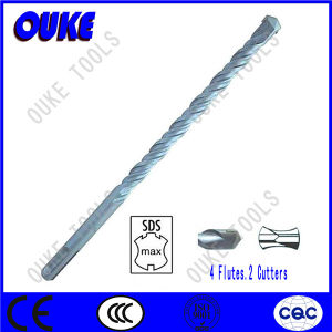 SDS Max Shank Double Flutes Hammer Drill Bit pictures & photos