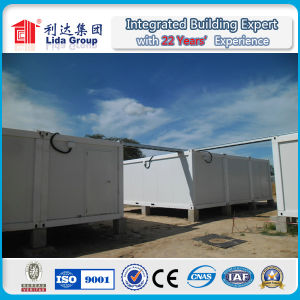 Prefabricated Cheap Collapsible Folded Flat Container House pictures & photos