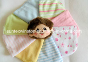 80% Cotton Baby Wash Cloth, 6 PCS Per Bag pictures & photos