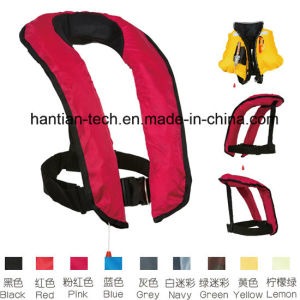 Marine Lifesaving Inflatable Safety Clothing (HT707) pictures & photos