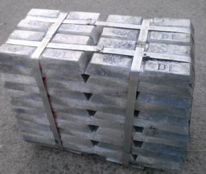 Zinc Ingots 99.995% Manufacturer/Zinc Ingot Supplier pictures & photos