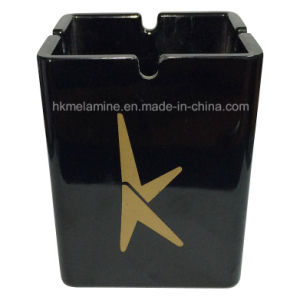 Tall Melamine Ashtray with Logo (AT057) pictures & photos