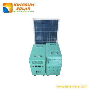 Solar Home Power System Solar Panel: 100*2W; Battery: 100ah pictures & photos
