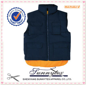 Winter Bodywarmer Quilt High Quality Outdoor Waistcoat pictures & photos