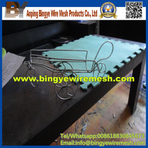Stainless Steel Wire Mesh Wine Rack From Binye pictures & photos