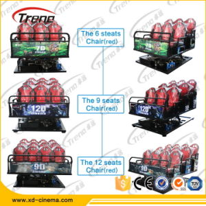 Hot Sells 7D Cinema Project Hydraulic 8 Seat Portable Xd Cinema Sale pictures & photos