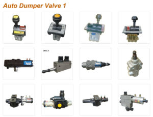 Hydraulic Limit Valve Pneumatic Control 4 holes for Dump Truck pictures & photos