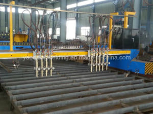 Chinese Cheap High Effeciency Section Steel Flame Cutting Machine pictures & photos