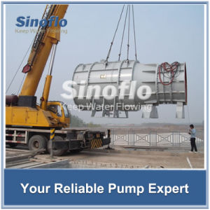 High Flow Low Head Submerged Axial Flow Dewatering Pumps pictures & photos
