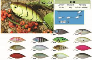 65mm Floating a Top Factory′s Cheap Price --- High Quality Made Custom Hard Plastic Fishing Crankbait - Wobbler - Minnow- Popper Fishing Lure pictures & photos
