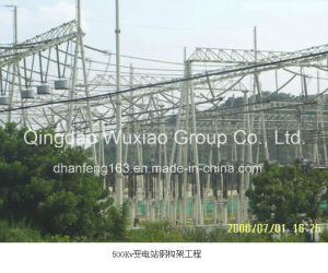 Substation Structure for Power Transmission, Substation pictures & photos