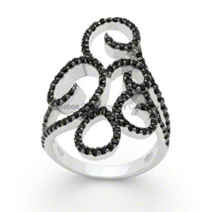Fashion Sterling Silver Jewellery Elegant Cubic Zirconia Jewelry Ring (KR3012) pictures & photos