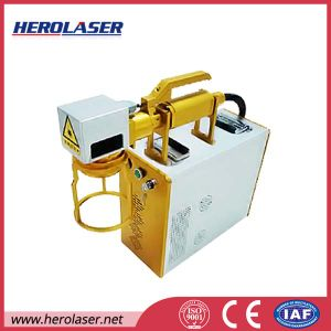 20W Portable Fiber Laser Marking Machine for Dog Tag pictures & photos