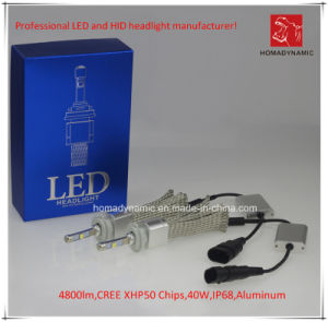 LED Headlight H9 4800lm CREE Chip pictures & photos