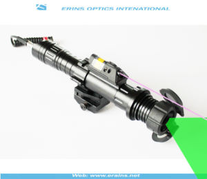 Subzero Zoomable 50mw Green Laser Designator with 5mw IR Laser Sight Combo pictures & photos