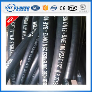 Wire Braided Hydraulic Rubber Hose