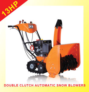 13HP Rubber-Track Snowblower
