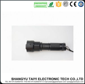 3W White/Yellow Light 80-150lm Aluminum Flashlight pictures & photos