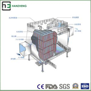 Wide Space of Lateral Electrostatic Collector-Lateral Vibration