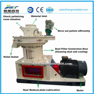 Large Scale Ring Die Vertical Dobule Sizes Grass Wood Sawdust Alfalfa Bamboo Pellet Press Plant Price pictures & photos