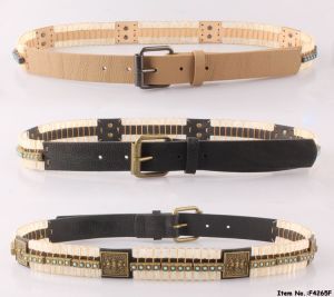New Arrival Fashion PU Women Leather Belts (F4265A) pictures & photos