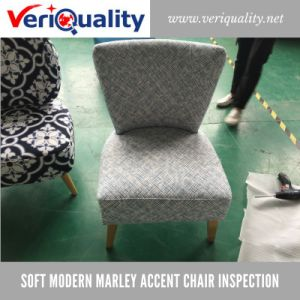 Soft Modern Marley Accent Chair Quality Control Inspection Service at Jiangshan, Zhejiang pictures & photos