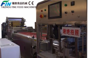 Automatic Candy Production Line for Sesame, Chocolate Coating Product, Nougat, Milk Candy, Sugus, Square Shape Candy pictures & photos